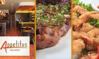 50% OFF comidas y bebidas en restaurante Appetitus