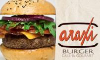 50% OFF: Araxi Burger Grill & Gourmet.