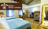 50% OFF 2 night stay for 2 people at Hotel Santa Catalina. Taxes included.