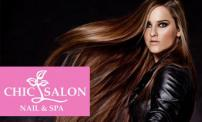 67% OFF:  Brazilian Smoothing Treatment at Chic Salon Nails and Spa