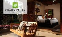 Up to 64% OFF: stay for 2 people at Crater Valley Boutique Hotel.