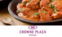 50% OFF: Buffet dinner for two people at the Crowne Plaza Hotel.